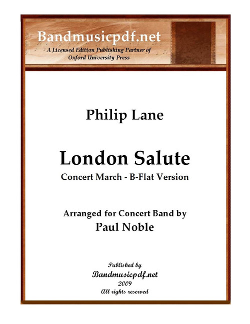 London Salute - B-flat Version