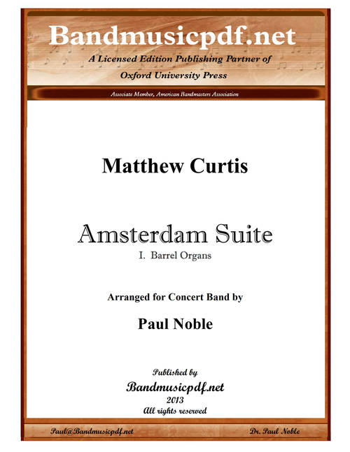 Amsterdam Suite, 1st movement
