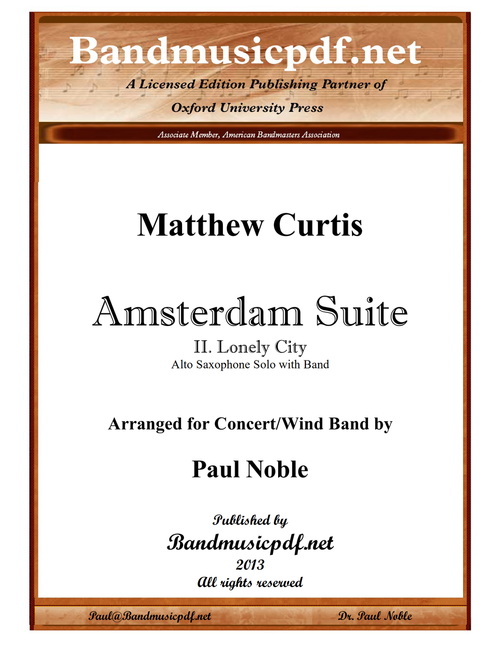 Amsterdam Suite, 2nd Movement