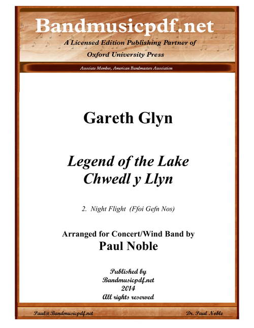 Night Flight, from Legend of the Lake