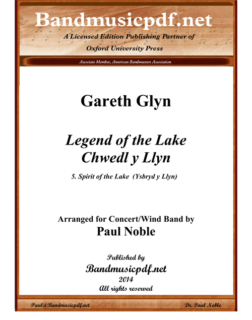 Spirit of the Lake, from Legend of the Lake