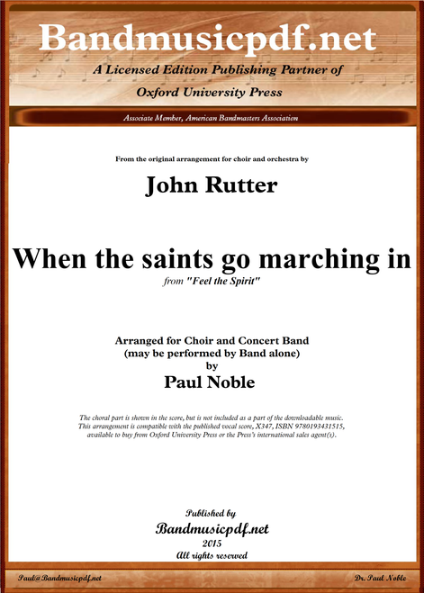 Feel the Spirit - When the saints go marching in
