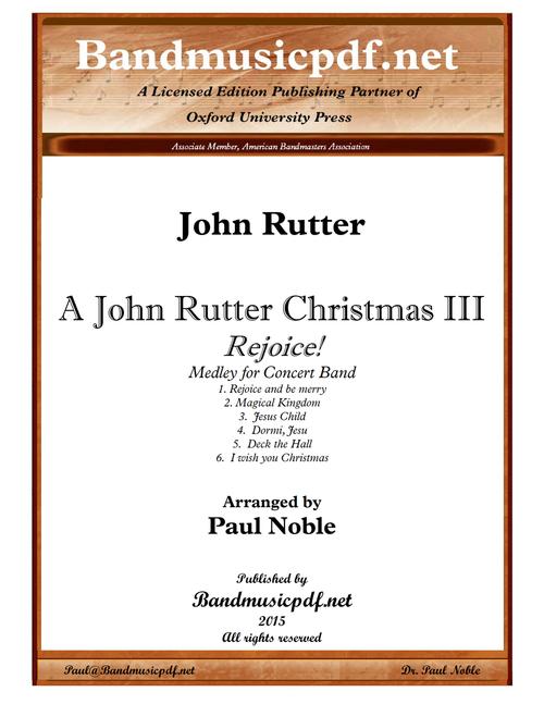 A John Rutter Christmas III - Rejoice!