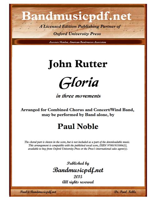 Gloria (Complete)