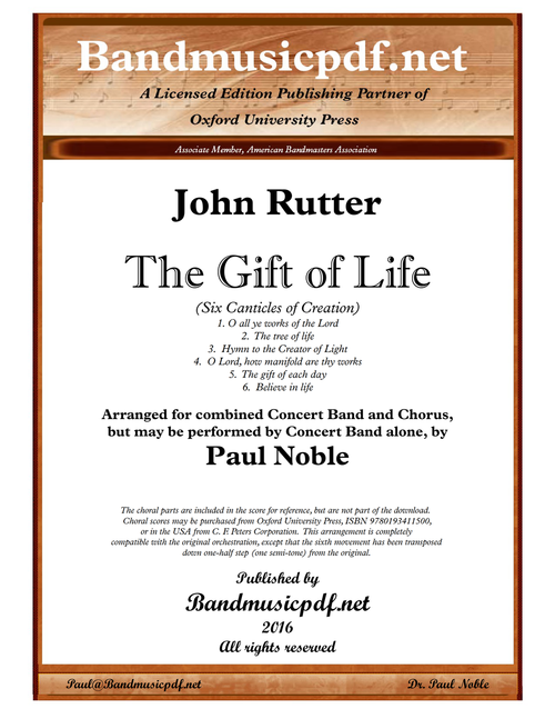 The Gift of Life (Complete)