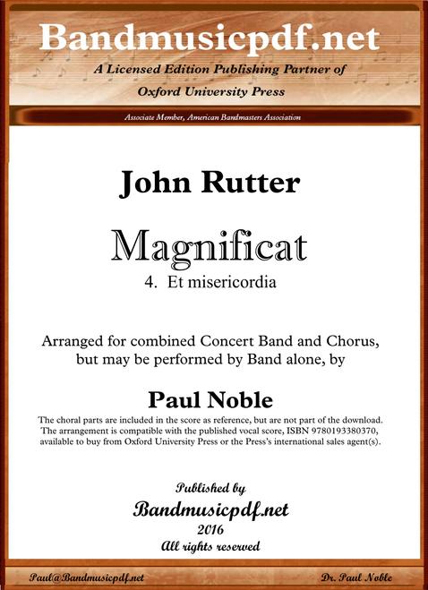 Magnificat 4. Et misericordia