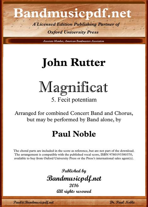 Magnificat 5. Fecit potentiam