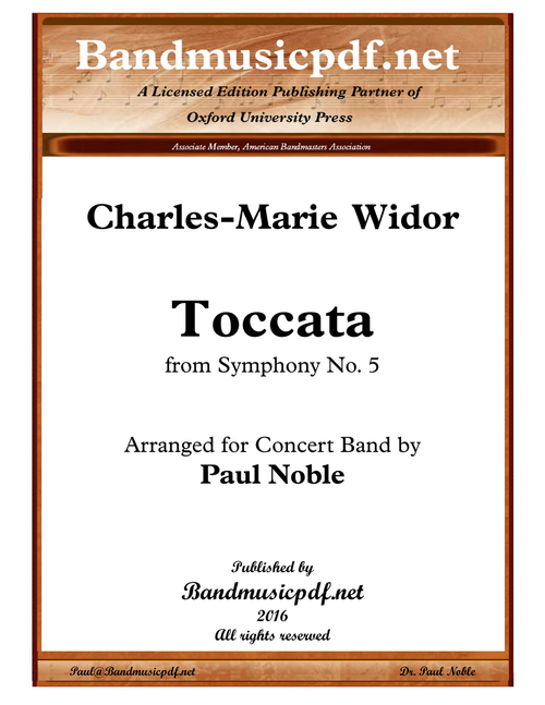 Toccata, from Symphony No. 5