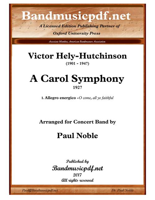 A Carol Symphony, 1st Movement