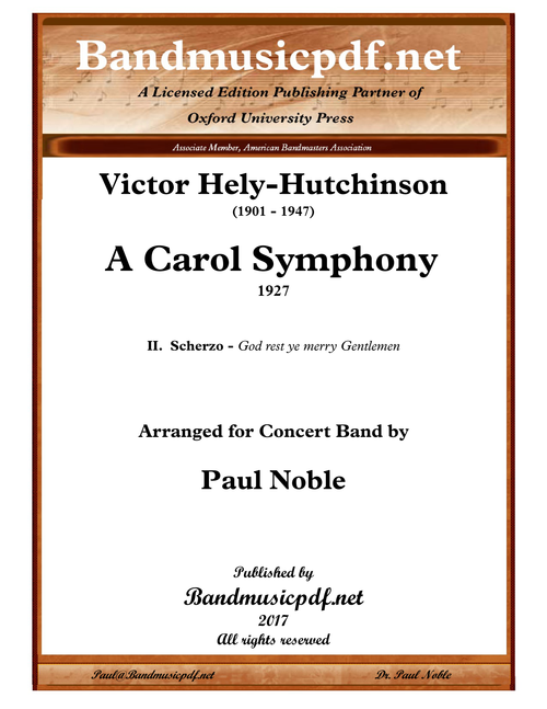 A Carol Symphony, 2nd Movement