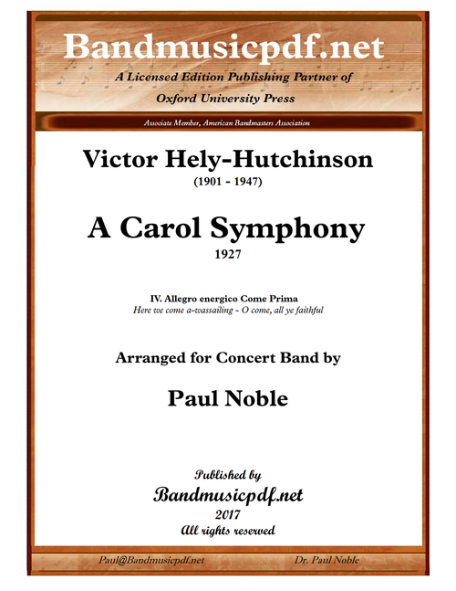 A Carol Symphony, 4th Movement