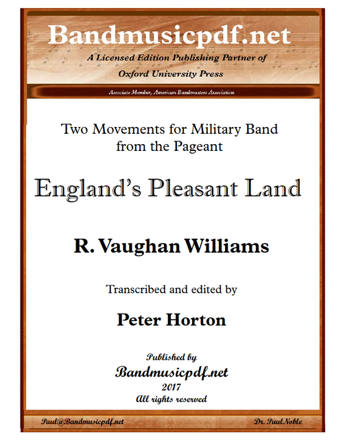 England's Pleasant Land - Original