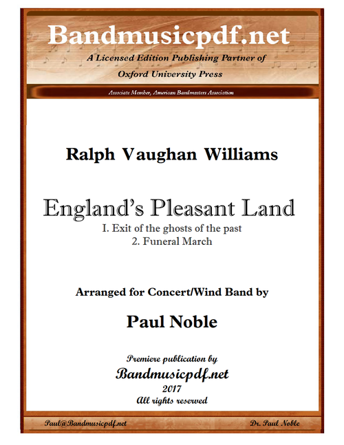 England's Pleasant Land - Concert Band version