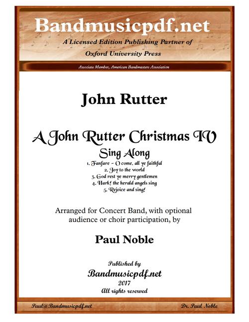 A John Rutter Christmas IV - Sing-Along
