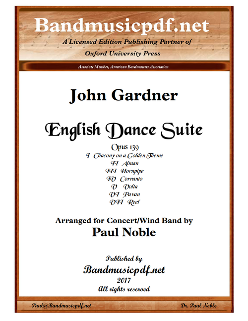 English Dance Suite - Revised Arrangement