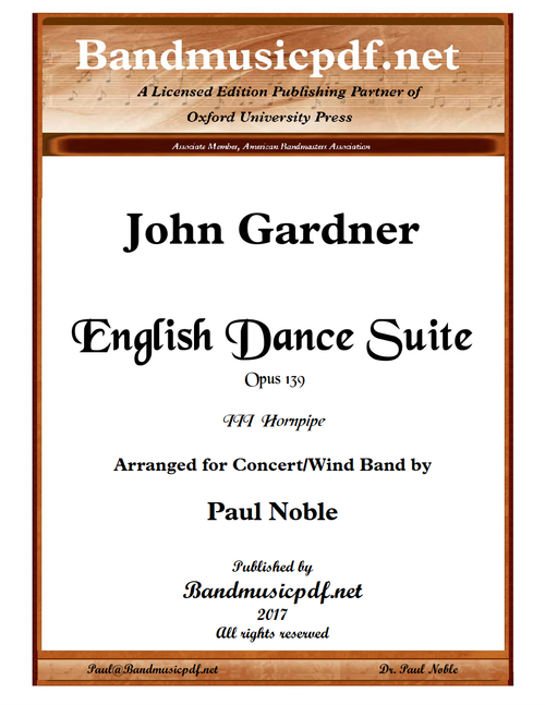 English Dance Suite - III Hornpipe