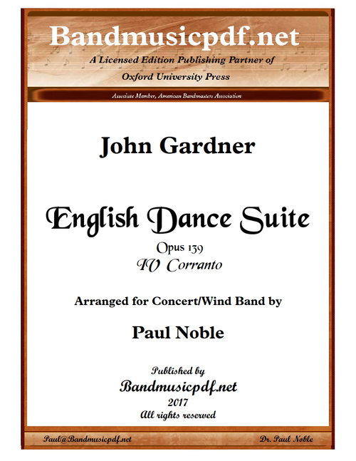 English Dance Suite - IV Corranto