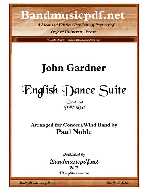 English Dance Suite - VII Reel
