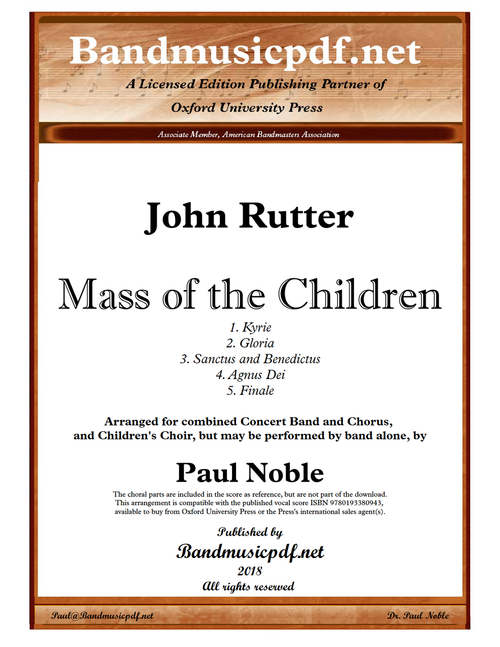 Mass of the Children (Complete)