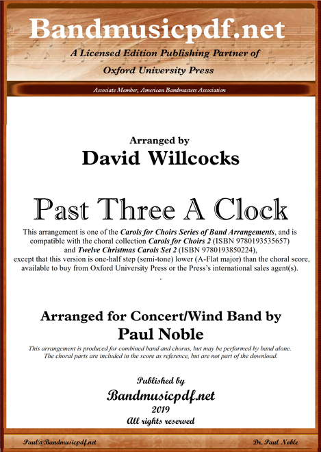 Past Three A Clock (A-flat major)