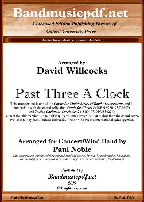 Past Three A Clock (A-flat major)
