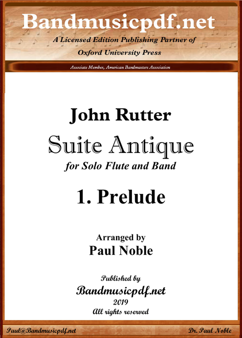 Suite Antique 1. Prelude