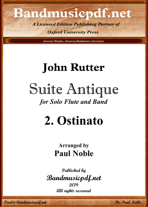 Suite Antique 2. Ostinato