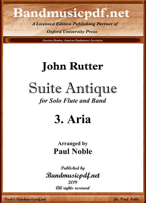 Suite Antique 3. Aria