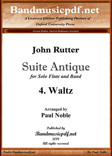 Suite Antique 4. Waltz