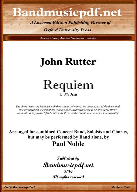 Requiem 3.  Pie Jesu