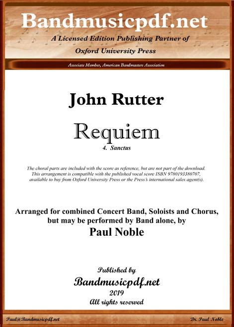 Requiem 4.  Sanctus