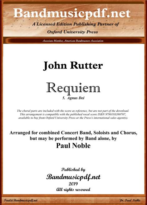 Requiem 5.  Agnus Dei