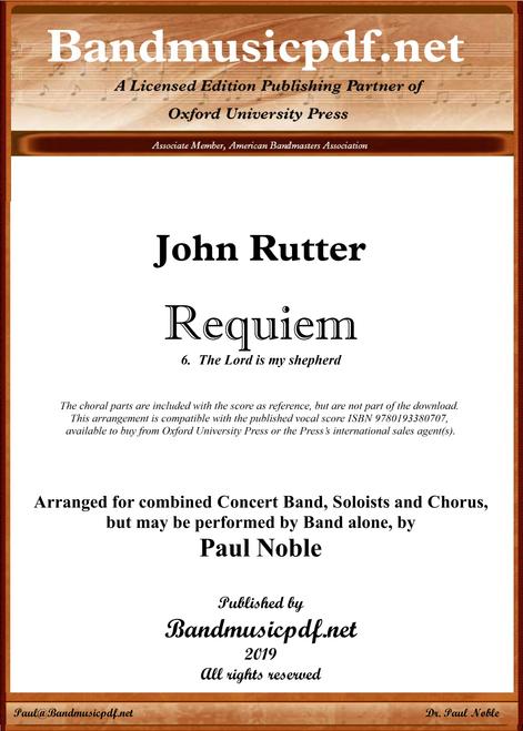 Requiem 6.  The Lord is my shepherd