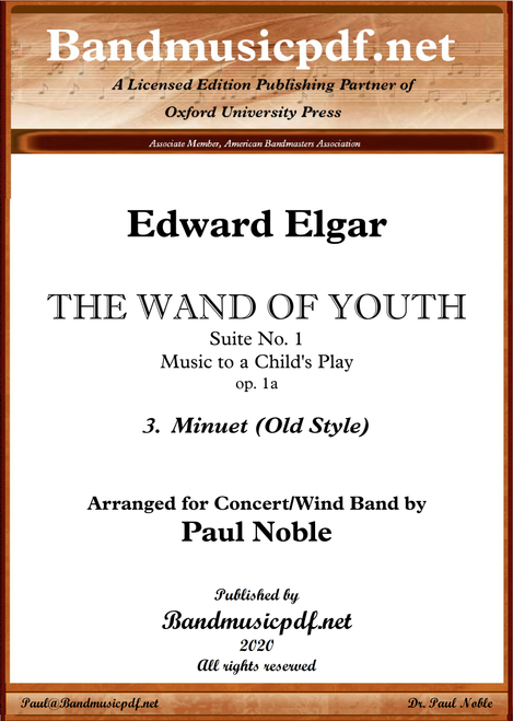 THE WAND OF YOUTH, No. 1 - 3rd Movement
