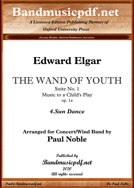 THE WAND OF YOUTH, No. 1 - 4th Movement