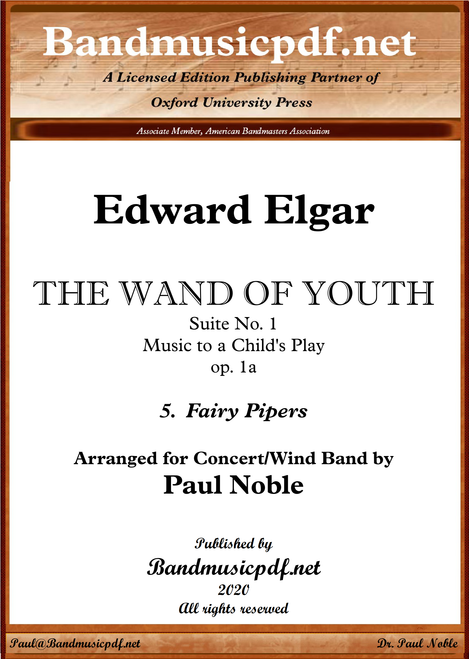 THE WAND OF YOUTH, No. 1 - 5th Movement