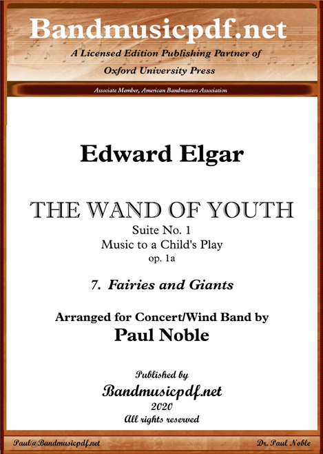 THE WAND OF YOUTH, No. 1 - 7th Movement