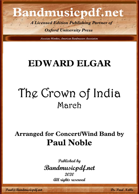 The Crown of India March