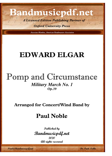 "Pomp and Circumstance, March No. 1 (Graduation March) (""Land of Hope and Glory"")"
