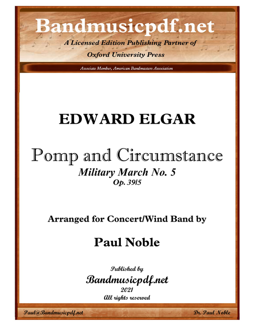 Pomp and Circumstance, March No. 5
