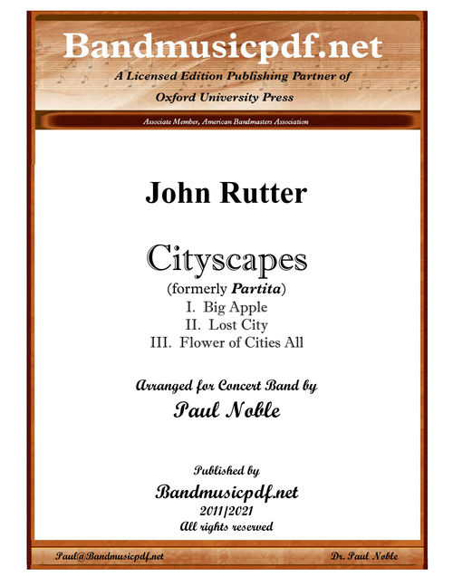 Cityscapes (Complete) HALF-PRICE SPECIAL)