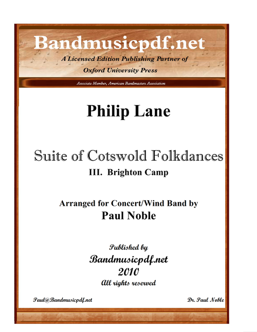 Suite of Cotswold Folkdances 3. Brighton Camp