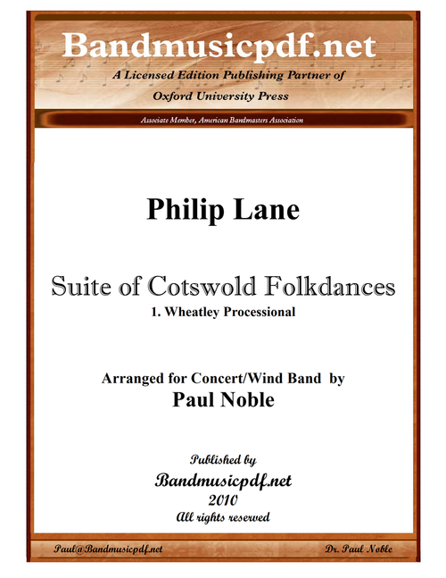 Suite of Cotswold Folkdances 1. Wheatley Processional