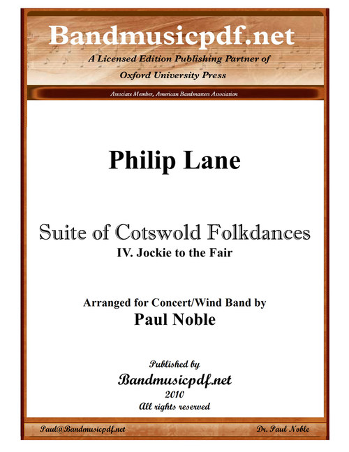 Suite of Cotswold Folkdances 4. Jockie to the Fair