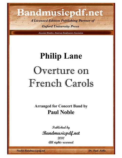 Overture on French Carols