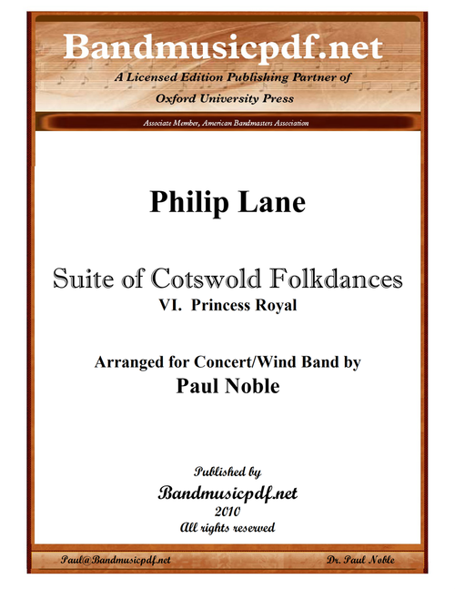 Suite of Cotswold Folkdances 6. Princess Royal