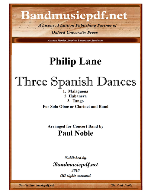 Three Spanish Dances