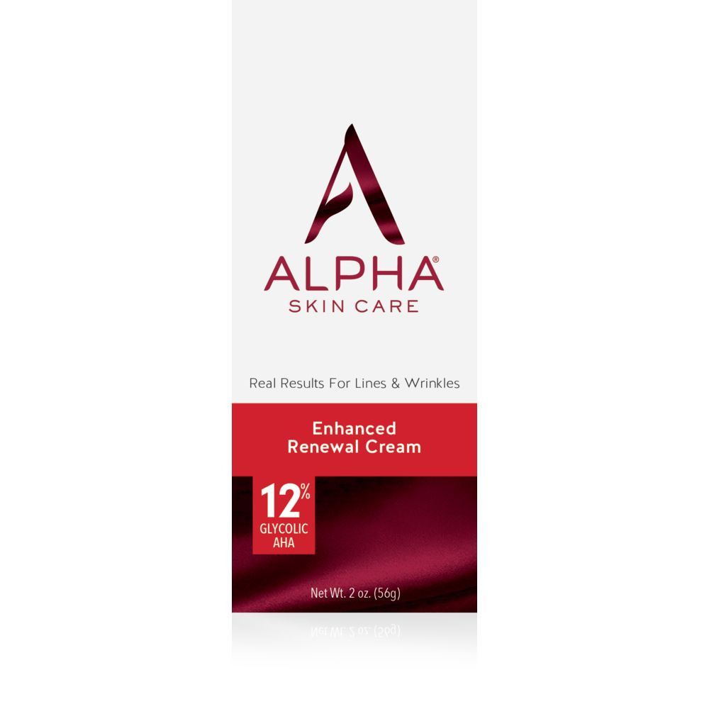 Box Shot Front Alpha Skin Care Enhanced Renewal Cream