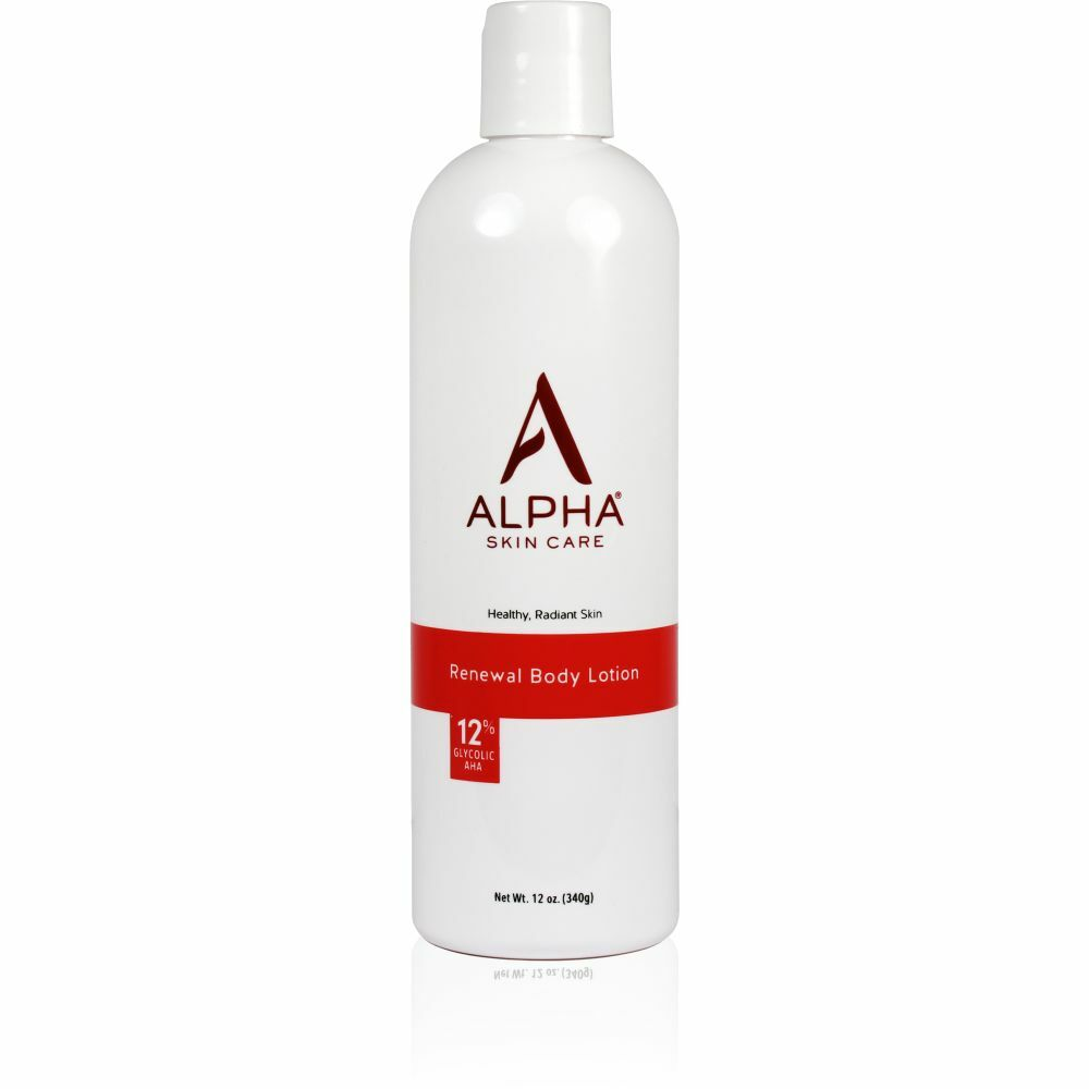 Primary Product Shot Alpha Skin Care Renewal Body Lotion