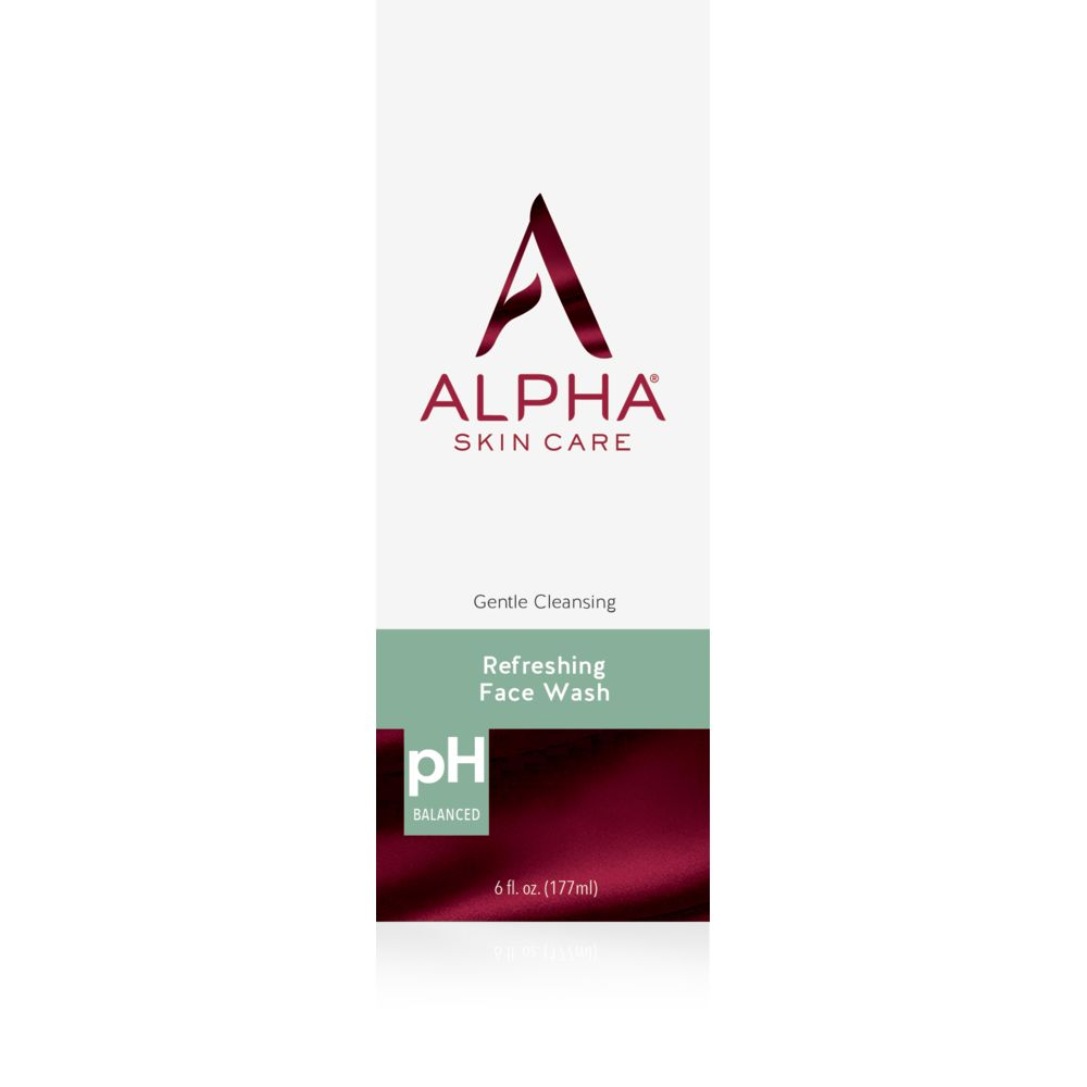 Box Shot Front Alpha Skin Care Refreshing Face Wash